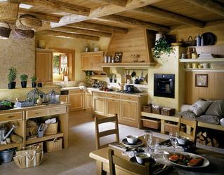 Cuisine ancienne bois - Le bois chez vous
